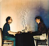 Candlelit dinner,Schlieren image