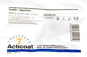 Acticoat 7 wound dressing