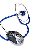 Stethoscope and mouse