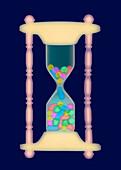 Hourglass,X-ray