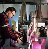 Sports footwear manufacture