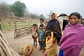 Rural family,India