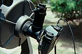 20cm Celestron amateur telescope