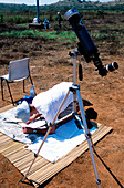 Solar eclipse astronomy,Angola