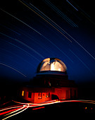 Time-lapse image of the UK Schmidt Telescope