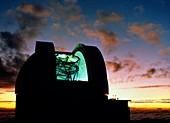 Dome of UKIRT,United Kingdom Infrared Telescope