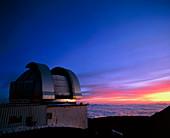United Kingdom Infrared Telescope on Mauna Kea