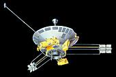 Illustration of Pioneer 10 11 spacecraft