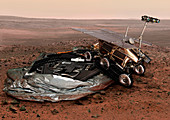 ExoMars lander and rover