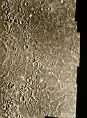 Mariner 10 photo of the surface of Mercury