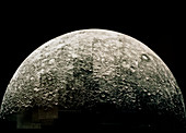 Mariner 10 mosaic of the planet Mercury