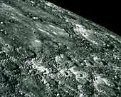 Mariner 10 photo of the surface of Mercury