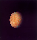 Voyager 2 image of Europa,one of Jupiter's moons