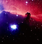 Optical image of the Horsehead nebula in Orion