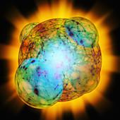 Big Bang inflation
