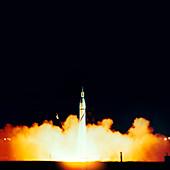Explorer 1 launch