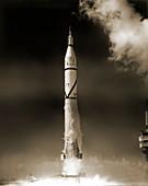 Explorer 4 launch