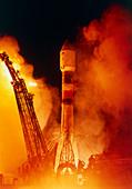 Soyuz-Fregat rocket launch