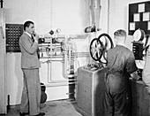 Rocket testing control room,Peenemunde