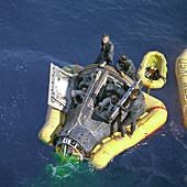 Gemini 8 mission rescue