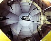 Space Shuttle model,wind tunnel test