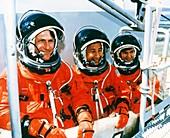Astronauts training
