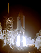 STS-116 launch,Space Shuttle Discovery