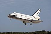 Space Shuttle Atlantis landing,2008