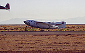 SpaceShipOne landing