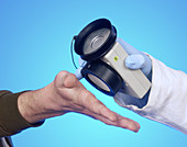 Radiation monitor use