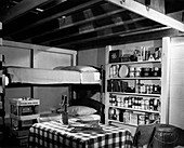 Fallout shelter,USA,1950s