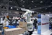 Industrial production line robot,Japan