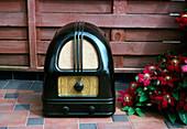 Bakelite radio,Philco 444 1936 British