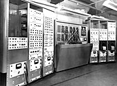Electronic simulator,1954