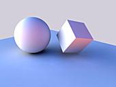 Geometric shapes,artwork