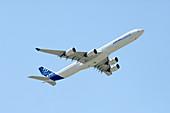Airbus A340 aircraft