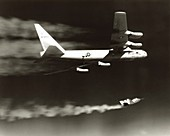 Launch of X-24A lifting body from B-52