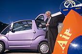 Air car,zero-emission car,with inventor