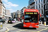 Hydrogen-powered bus