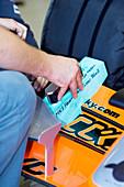 Formula One car preparation