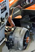 Racing car wheel hub