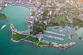 Romanshorn harbour,Switzerland