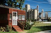 Soy processing plant,Illinois,USA
