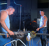 Crystal glassware manufacturing