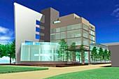 IRCAD cancer diagnostics building,Taiwan
