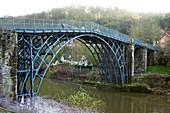 The Iron Bridge,Shropshire,UK
