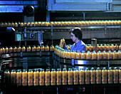 Orange juice production