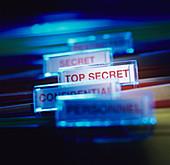 Top secret paperwork