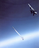 Missile flight test