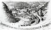 Coalbrookdale,birth of iron technology